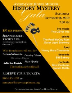 History Mystery Gala poster